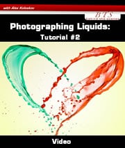 Creating liquid splash tutorial